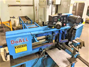 Do all C916a Automatic Horizontal Bandsaw With Infeed Conveyor