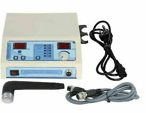 Ultrasonic Ultrasound Therapy Machine Pain Relief Physiotherapy Unit Fast Ship