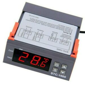 Stc 1000 Temperature Controller Incubator Regulator Equipment Set Digital