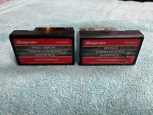 As Is Snap On Mt2500tsi Mt2500vci Programmable Interface Mt2500 Cartridges Set