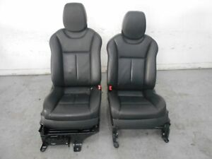 2008 08 09 10 Porsche Cayenne Turbo Front Leather Seats 7332