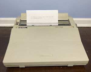 Look Smith Corona Pwp 78 Ds Typewriter Word Processor Tested Works 100 Vintage