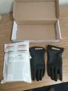 New Electrical Insulating Rubber Gloves Size Large