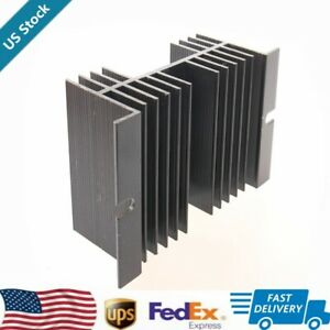 1pcs Replacement Single phase Solid State Relay Ssr Heat Sink Black Us