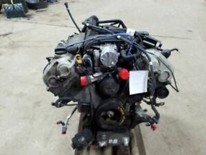Engine Motor 4 8l Without Turbo Vin B 5th Digit Fits 09 10 Porsche Cayenne