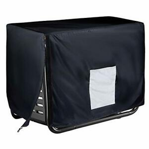 Waterproof Portable Generator Cover 32 X 24 X 34 Inch L32 X W24 X H24 Black
