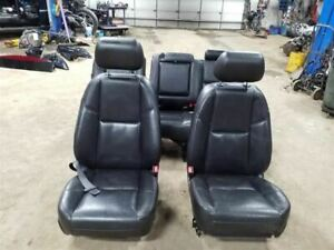 Front And Rear Seats Leather Black Fits 10 11 Escalade Ext 709313