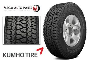 1 Kumho Road Venture At51 P265 70r17 113t All Terrain Truck 55k Mi 3pmsf Tires