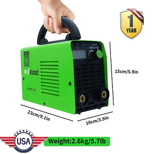 Portable Arc Welder Stick Welding Machine 145 Amp Dual Voltage 110 220v Inverter