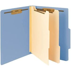 Smead Classification File Folder 2 Dividers 2 quot Expansion 2 5 cut Tab 10