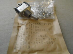 1 Ea Nos Cutler Hammer Toggle Switch P n 8804k13 I w Ms35058 26