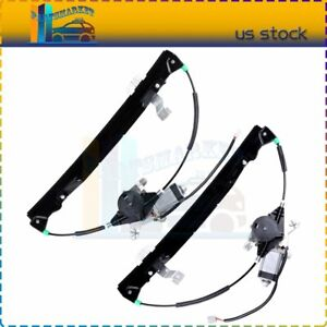 New Window Regulator Rear Left Right With Motor Fits 2002 2010 Ford Explorer