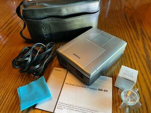 Vintage Casio Handheld Overhead Projector Model Oh 20 with Carrying Case