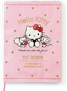 gifts For Women hello Kitty Sanrio Japan B6 Diary Schedule Planner Book 2021