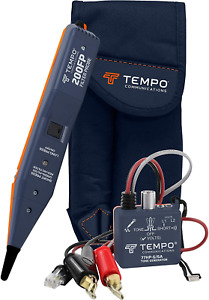 Tempo Communications 801k Tone Generator And Filtered Probe Kit Professional