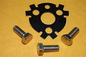 Sbc Bbc Cam Lock Plate With Bolts Camshaft 350 383 454 Small Big Block