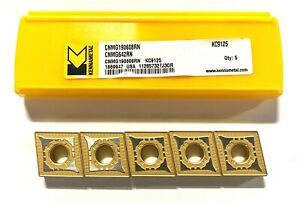 Kennametal Carbide Insert Cnmg642rn Grade Kc9125 Turning Inserts 5 Pack