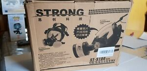 Strong St s100x 3 Full Face Gas Mask Respirator W Dual Filter New St s100