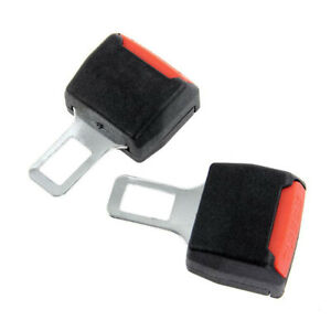 2pcs Universal Car Seat Belt Extender Belt Clip Extension Buckle Safety Car Seat