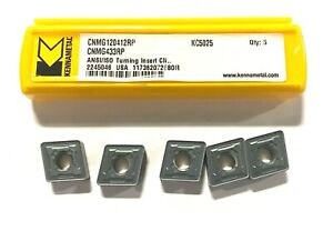Kennametal Carbide Insert Cnmg433rp Grade Kc5025 Turning Indexable Inserts 5pk