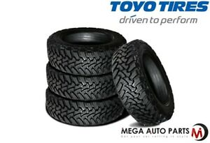 4 Toyo Open Country M t 33x12 50r20 114q 10 ply Off road Truck suv cuv Mud Tires