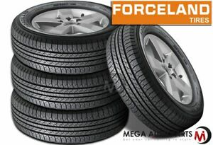 4 Forceland Kunimoto F26 255 70r16 111t All Season Tires For Truck Suv Cuv