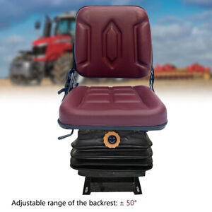 Lawn Mower Tractor Seat Garden Tractor Slidable Fits Most Brands W suspension Us