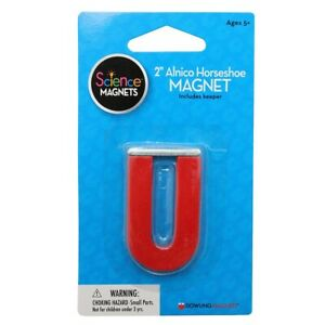 2 Alnico Horseshoe Magnet By Dowling Magnets