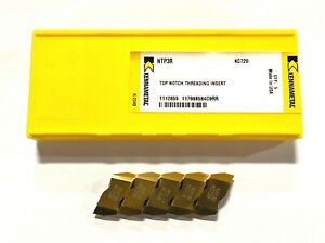 Kennametal Carbide Insert Ntp3r Grade Kc720 Top Notch Threading Inserts 5 Pack