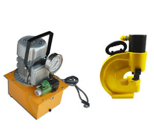 Usa Stock Electric Hydraulic Pump ch 70 Hydraulic Hole Punching For Punching