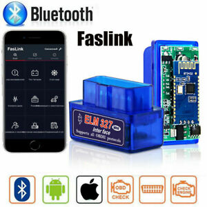 Car Obd2 Bluetooth Scanner Code Reader Obdii Elm 327 Diagnostic Tools For Iphone
