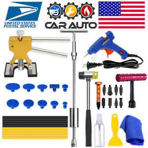 Car Paintless Dent Repair Puller Kits Dent Remover Hammer Dent Hail Damage Tools