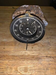 1968 1970 Mopar B Body Rally Dash Clock 68 69 70 Charger Super Bee For Parts