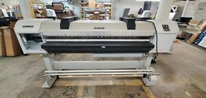 Pre owned Mutoh Valuejet Vj 1617h 64 Shipping Available cost Depends On Local