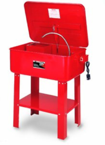 Aff Automotive Parts Washer With Electric Pump With Parts Basket 20 Gallon 30 L