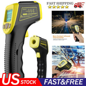 Non contact Infrared Thermometer Temperature Tester Gun Ir Laser 58 To 1112