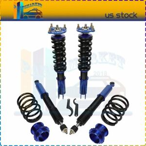 For Ford Mustang 1994 2004 Coilovers Shocks Struts Suspension Springs Kits