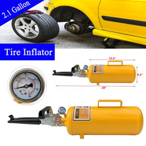 Portable Tire Bead Seater Air Blaster Tool Trigger Seating Inflator 2 1gallon Us
