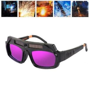 Solar Powered Auto Darkening Welding Helmet Eye Goggle Glasses 1x Welder Hotsale