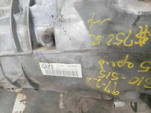 Manual Transmission 2wd Fits 96 99 S10 s15 sonoma 51190