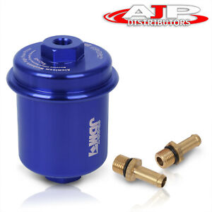 Universal Performance Racing Fuel Filter 200psi Turbo Super Charger N A Blue