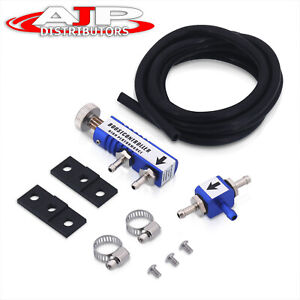 Universal Jdm In Cabin Manual Adjustable Turbo Charger Boost Controller Set Blue