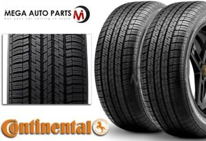 2 New Continental Contitouringcontact Cv95 225 50r17 94v Tires