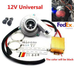 Power Electric Supercharger Car Lifting Turbo Engine Reduce Fuel Consumption Usa