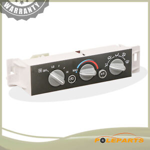 A c Heater Climate Control Switch For Chevy Gmc C1500 C2500 C3500 K1500 Truck