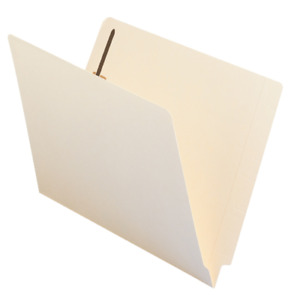 Smead 100 Recycled Straight End tab Folder Letter Manila 50 count