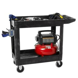 Rubbermaid Commercial Utility Cart Heavy Duty Products Commercial Use Warehouse