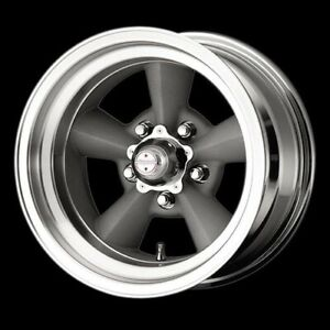 American Racing Hot Rod Vn30958561 Tt O Wheel 15 x8 5 5x4 75 Vintage Silver