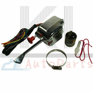 Universal Turn Signal Switch Street Hot Chrome Rod W Flasher For Buick Ford Gm