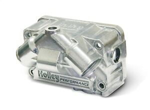 Holley Performance 134 73s Aluminum V Bowl Kit Carburetor Fuel Bowl Kit